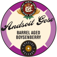Andsoit Gose Barrel Aged Boysenberry