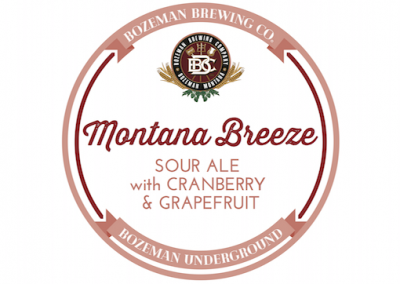 Montana Breeze Cranberry & Grapefruit Sour 2020